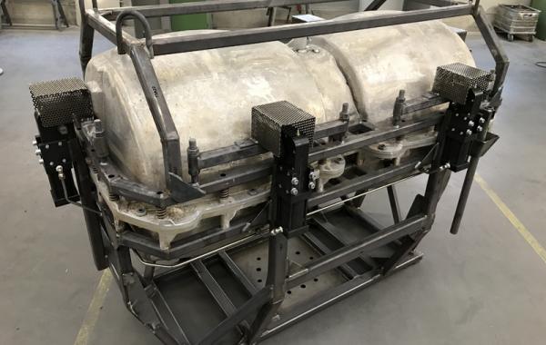 FastCast Doppelform, Pneumatikverschlüsse