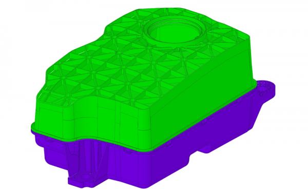 3D-Daten AdBlue Tank für Spritzgussfertigung