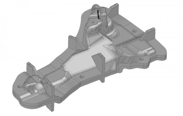 3D-Daten, Prototypen-Rotationsgießform