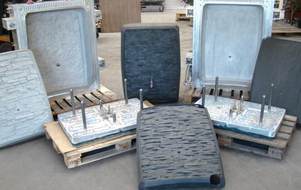 Aluminium-Blasform mit diversen Wechseleinsätzen