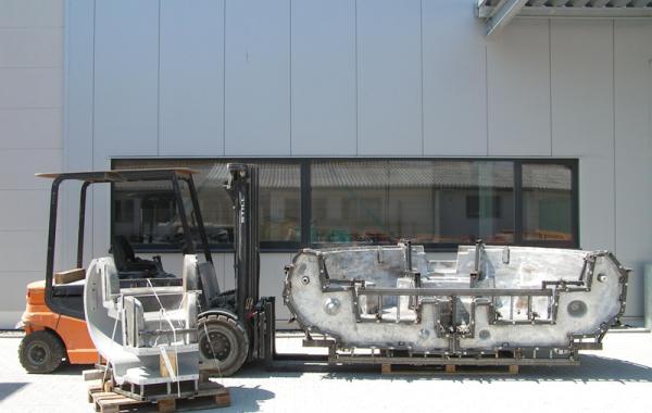 Aluminiumguss-Rotationsgießform