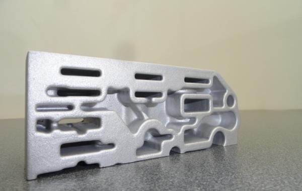 Aluminium precision casting (125 x 50 x 25mm)
