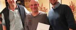 Michael Speers 25-jähriges Betriebs-Jubiläum